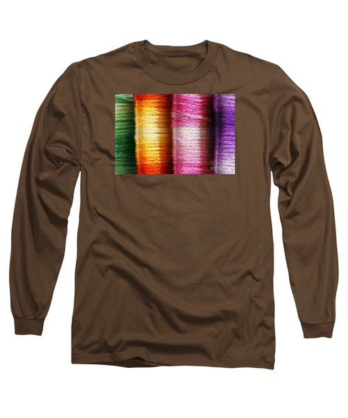 Colour Me Happy Long Sleeve T-Shirt by Wendy Wilton