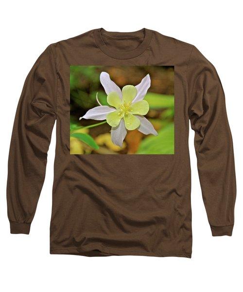 Columbine Charlie's Garden Long Sleeve T-Shirt by Ed  Riche