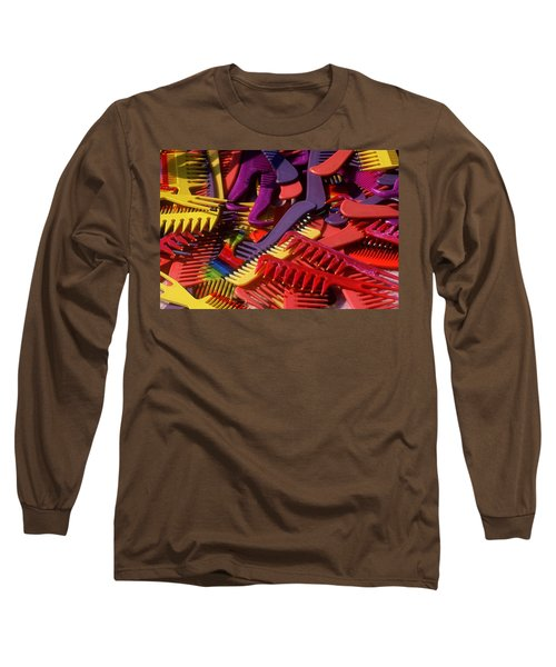 Long Sleeve T-Shirt featuring the photograph Combs by Rodney Lee Williams