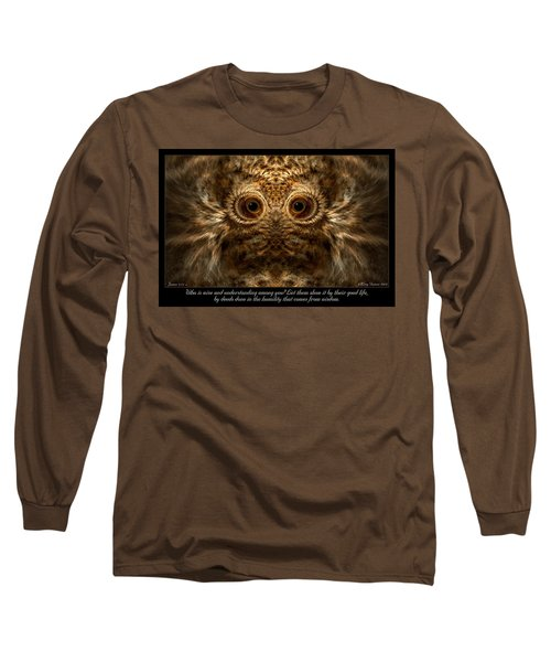 Comes From Wisdom Long Sleeve T-Shirt