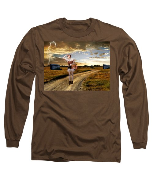Long Sleeve T-Shirt featuring the photograph Coming Home by Ester  Rogers
