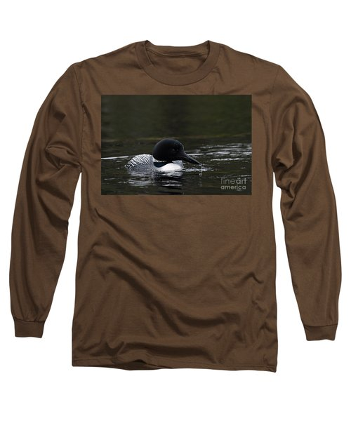 Common Loon 1 Long Sleeve T-Shirt