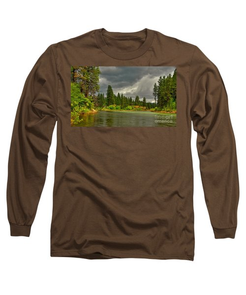 Long Sleeve T-Shirt featuring the photograph Confluence by Sam Rosen