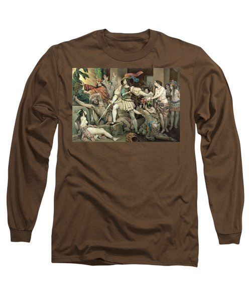 Conquest Of Mexico Hernando Cortes Long Sleeve T-Shirt
