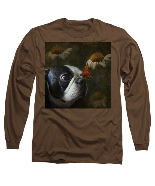 Constant Companion Long Sleeve T-Shirt by Kathleen Holley