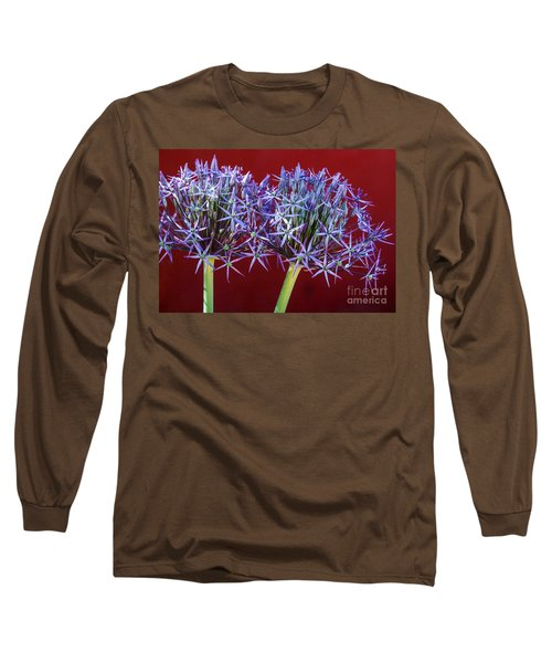 Long Sleeve T-Shirt featuring the photograph Flowering Onions by Roselynne Broussard