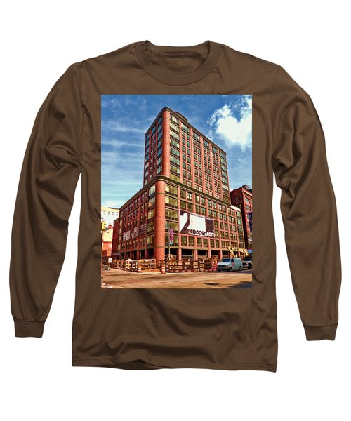 Cooper Exterior Long Sleeve T-Shirt by Steve Sahm