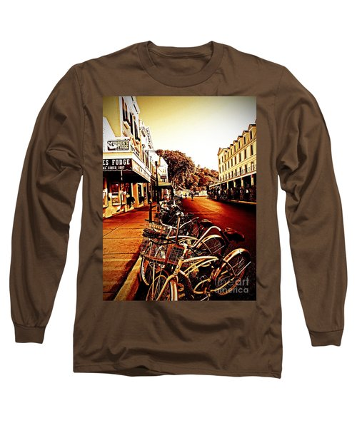 Copper And Rust Long Sleeve T-Shirt by Desiree Paquette