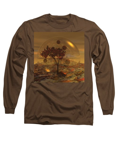 Copper Terrarium Long Sleeve T-Shirt