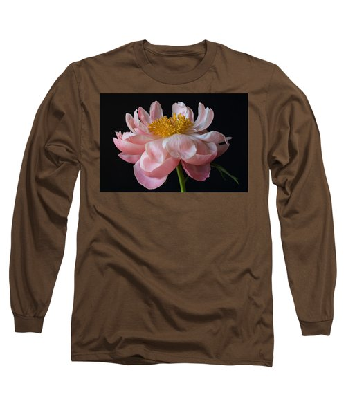 Coral Peony Long Sleeve T-Shirt