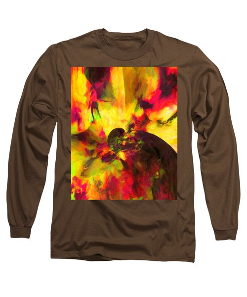 Long Sleeve T-Shirt featuring the digital art Corner Of Discovery by Joe Misrasi