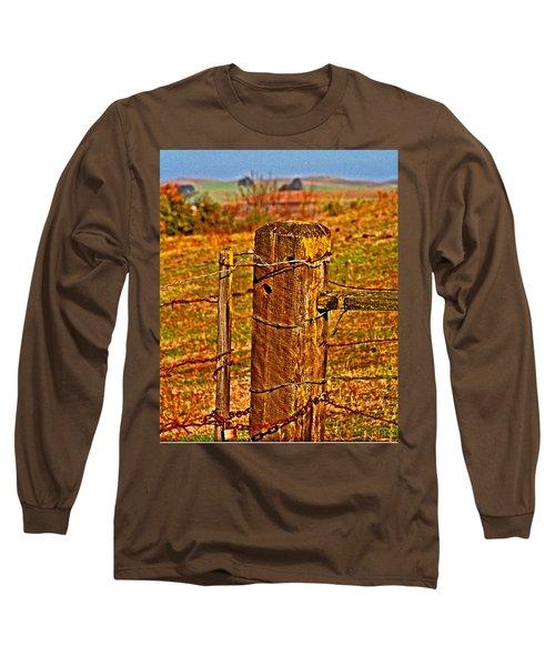 Corner Post At Gate Long Sleeve T-Shirt
