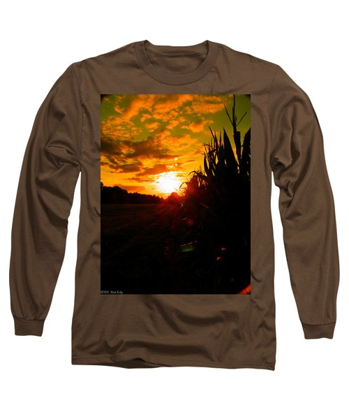 Cornset Long Sleeve T-Shirt by Nick Kirby