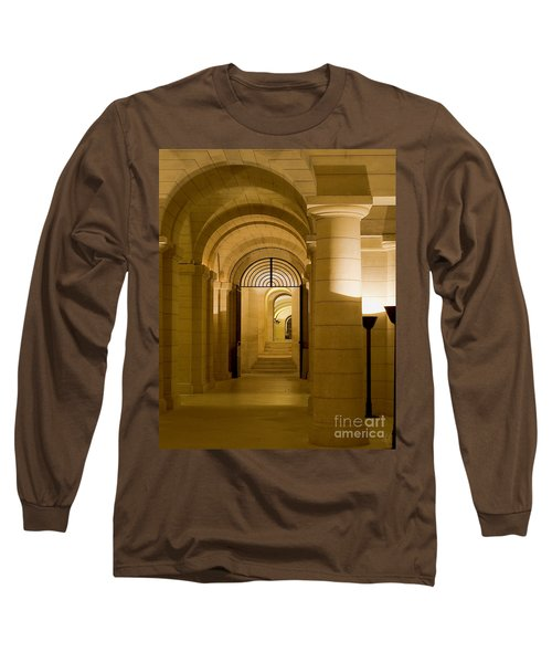 Long Sleeve T-Shirt featuring the photograph Corridors by Victoria Harrington