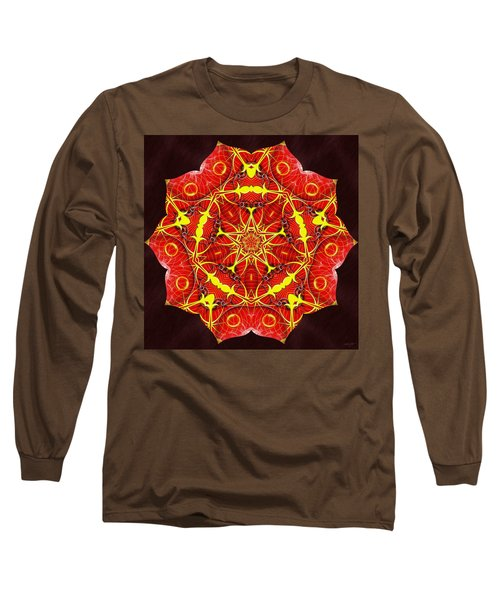 Cosmic Masculine Firestar Long Sleeve T-Shirt