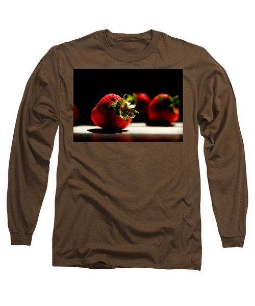 Countertop Strawberries Long Sleeve T-Shirt