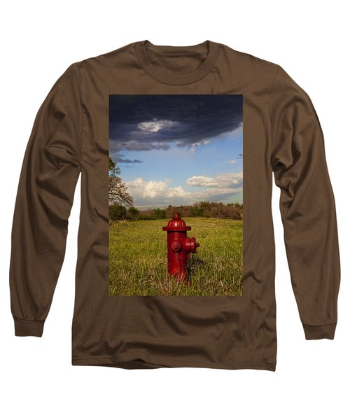 Country Fire Hydrant Long Sleeve T-Shirt