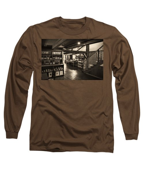 Country Store Long Sleeve T-Shirt by Bill Howard