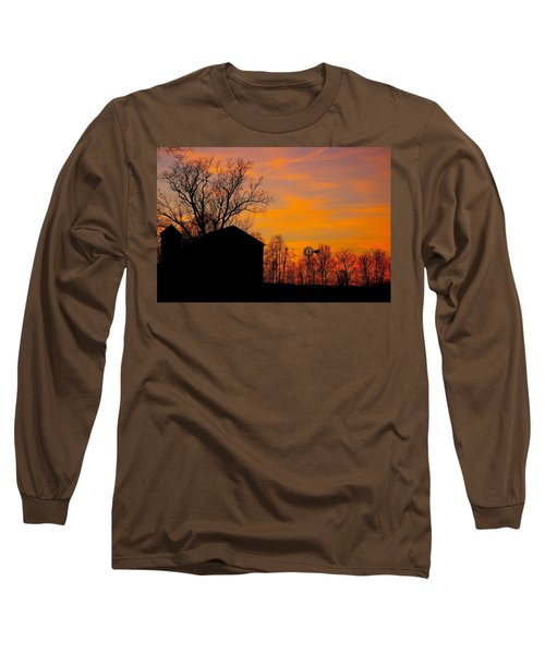 Country View Long Sleeve T-Shirt