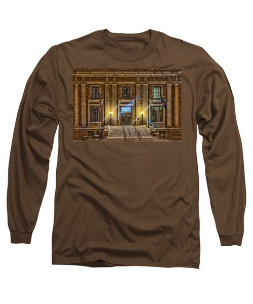 Courthouse Steps Long Sleeve T-Shirt by Paul Freidlund