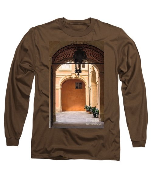 Courtyard Of Siena Long Sleeve T-Shirt