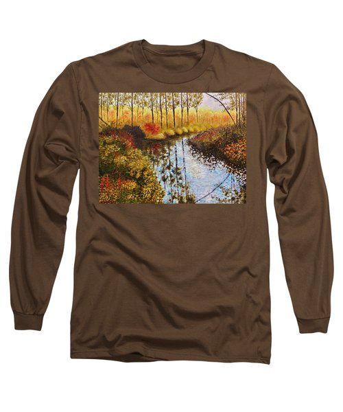 Cranberry Bog Long Sleeve T-Shirt by Jason Williamson