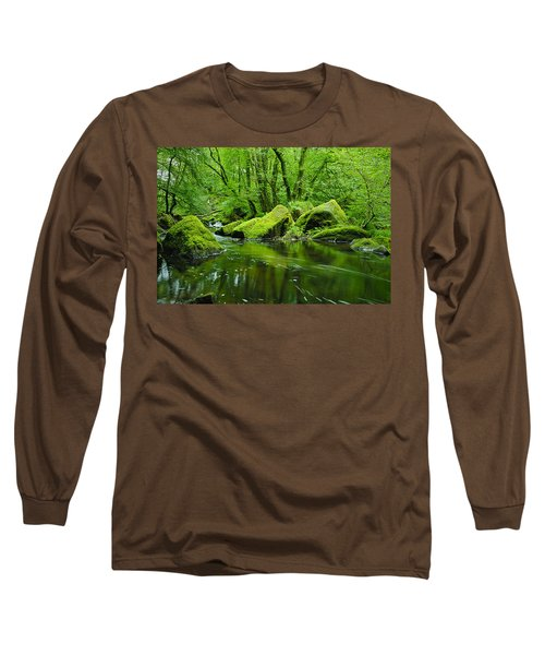 Creek In The Woods Long Sleeve T-Shirt