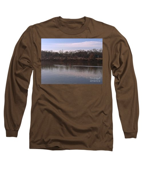 Crew On The Schuylkill - 1 Long Sleeve T-Shirt
