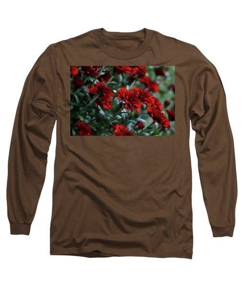 Crimson And Clover Long Sleeve T-Shirt