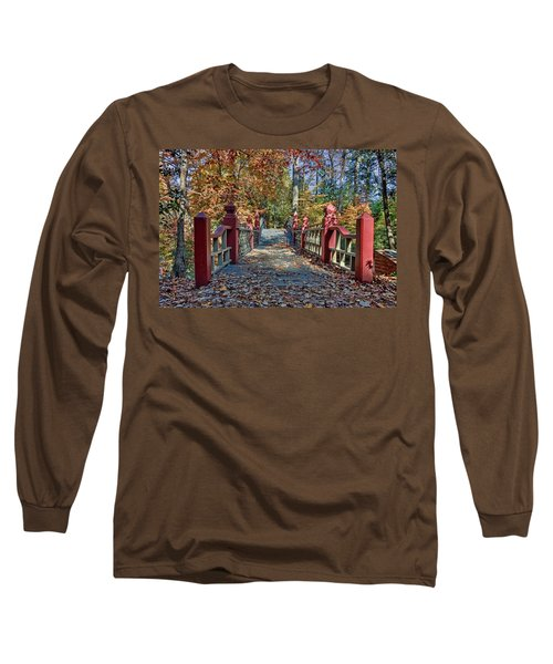 Crossing The Crim Dell Bridge II Long Sleeve T-Shirt