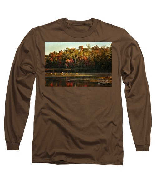 Crossing The Lake Long Sleeve T-Shirt
