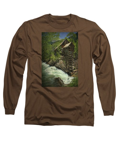 Crystal Mill Long Sleeve T-Shirt by Priscilla Burgers