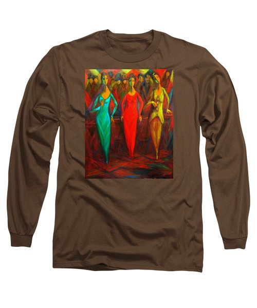 Cubism Dance II Long Sleeve T-Shirt