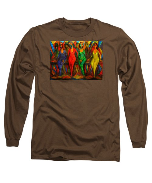 Cubism Dance  Long Sleeve T-Shirt