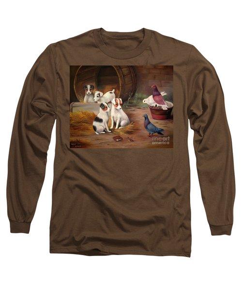 Curious Friends Long Sleeve T-Shirt
