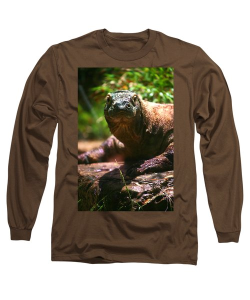 Curious Komodo Long Sleeve T-Shirt