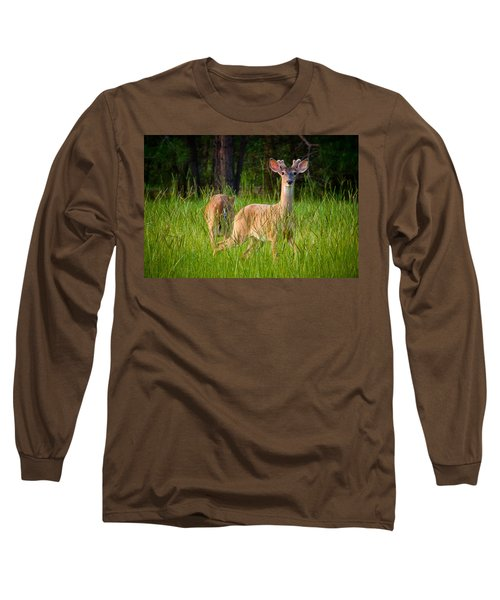 Curious Long Sleeve T-Shirt by Linda Unger