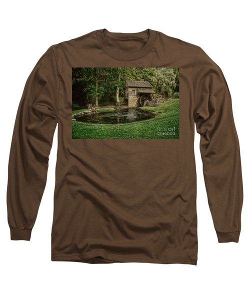 Cuttalossa Farm In Summer I Long Sleeve T-Shirt