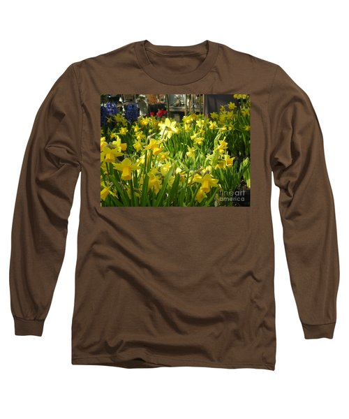 Daffidoils Long Sleeve T-Shirt by Kim Prowse
