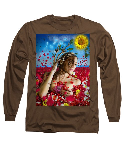 Dafne   Hit In The Physical But Hurt The Soul Long Sleeve T-Shirt
