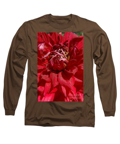 Long Sleeve T-Shirt featuring the photograph Dahlia Viiii by Christiane Hellner-OBrien