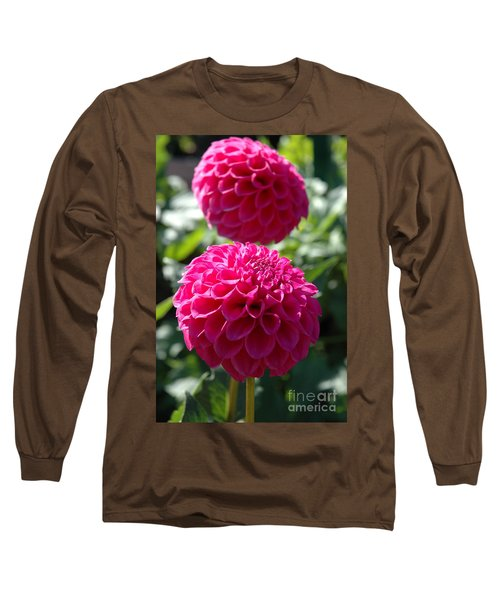 Long Sleeve T-Shirt featuring the photograph Dahlia Xi by Christiane Hellner-OBrien