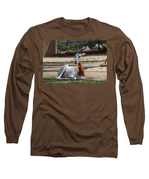 Dama Gazelle Long Sleeve T-Shirt by DejaVu Designs
