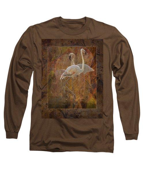 Dance Of The Flamingos Long Sleeve T-Shirt