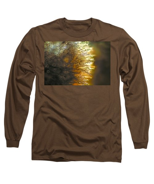 Dandelion Shine Long Sleeve T-Shirt by Peggy Collins