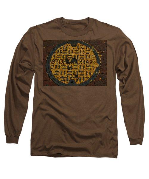 De Stijl Drain Long Sleeve T-Shirt
