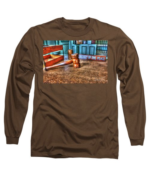 Dealing Justice Long Sleeve T-Shirt