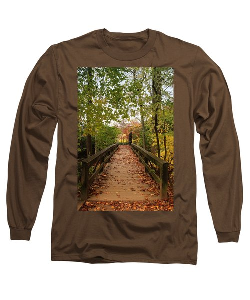 Decorate With Leaves - Holmdel Park Long Sleeve T-Shirt