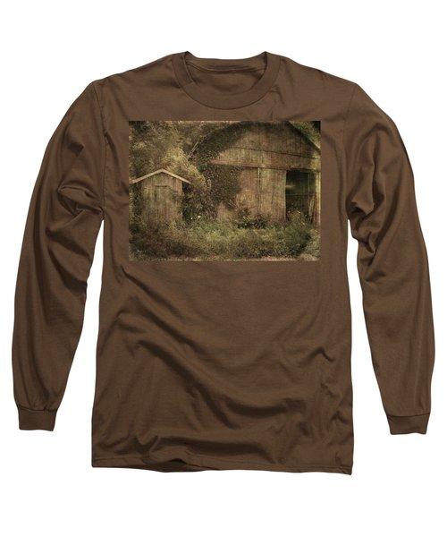 Decrepitude Long Sleeve T-Shirt by Cynthia Lassiter