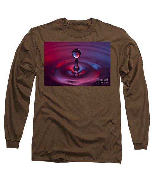 Deep Purple Long Sleeve T-Shirt by Anthony Sacco
